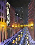 Knoxville Prints - Tennessee  Print by Mackenzie  Matthews