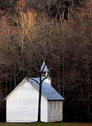 Tenn Prints - Tennessee Mountain Church Print by Skip Willits