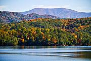 Red Mountains Prints - Tennessee Mountains Print by Paul Bartoszek