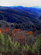 Tenn Prints - Tennessee Mountains Print by Skip Willits