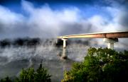 River Mist Photos - Tennessee River Mist by Edward Myers