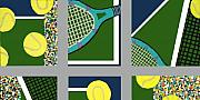 Mike Weinstein - Tennis Collage