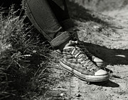 Tennis Shoes Photos - Tennis shoes by Gabriela Insuratelu