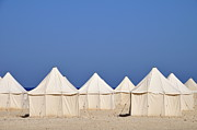 Repetition Photos - Tents on beach by Sami Sarkis