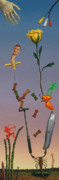 Juggling Art - Tenuous Still-Life 3 by James W Johnson