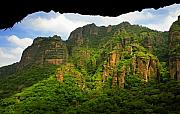 Landscap Photo Framed Prints - Tepozteco Framed Print by Skip Hunt