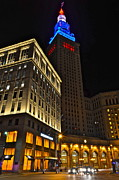 Terminal Photos - Terminal Tower and Casino by Robert Harmon