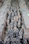 Terra Cotta Posters - Terra Cotta Warriors I Poster by Thomas Marchessault
