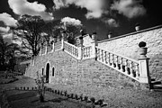 Footpaths Art - Terrace Footpaths And Viewing Platform In Restored Castle Gardens In Lisburn City Centre by Joe Fox