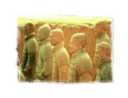 Qin Prints - Terracotta Warriors Print by Carol Groenen