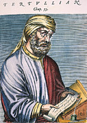Turban Framed Prints - Tertullian (160?-230? A.d.) Framed Print by Granger