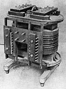 Transformer Prints - Testing An Electrical Transformer, 1906 Print by National Physical Laboratory (c) Crown Copyright