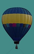Hot Air Balloon Photos - Tethering Heights by DigiArt Diaries by Vicky Browning