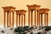 Palmyra Photos - Tetrapylon Of Palmyra, Syria by Joe & Clair Carnegie / Libyan Soup