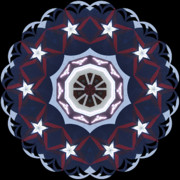 Kaleidoscope Art - Texan by Gayle Johnson