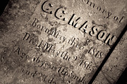 Grave Photos - Texas Chainsaw Massacre - C.C. Mason Grave by Trish Mistric