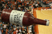 Lucky Larue Art - Texas Longhorn Basketball by Lucky LaRue