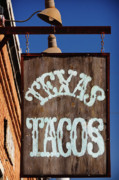 Breakfast Photo Framed Prints - Texas Tacos Framed Print by Charles Dobbs