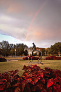 Autumn Trees Photo Prints - Texas Tech University Print by Ilker Goksen