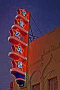 Cliff Lee Photo Posters - Texas Theater Restored Poster by Gib Martinez