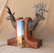 Deer Sculpture Originals - Texas Trophies by J P Childress