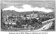 Amesbury Photos - Textile Mills, 1844 by Granger