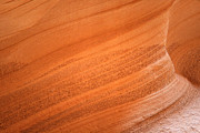 Curve Posters - Texture and Light - Antelope Canyon Poster by Christine Till