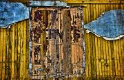 Torn Framed Prints - Textured Wall Framed Print by Ray Laskowitz - Printscapes