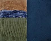 Textures Four Ll Print by Marsha Heiken