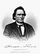 Representative Framed Prints - Thaddeus Stevens Framed Print by Granger