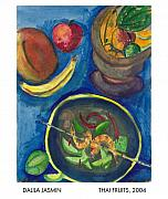 Mango Framed Prints - Thai Fruits Framed Print by Dalila Jasmin