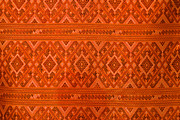 Clothing Tapestries - Textiles Prints - Thai patterns. Print by Chatchawin Jampapha