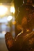 Backlit Originals - Thai statue by James O Donnell
