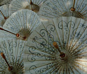 Hand Made Art - Thai Umbrellas 3 by Bob Christopher