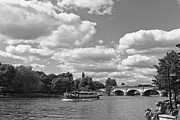 Kingston Prints - Thames River Cruise Print by Maj Seda