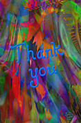 Thank You Print by Kevin Caudill