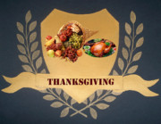 Thanksgiving Paintings - Thanksgiving by Georgeta  Blanaru