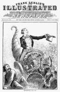 1887 Prints - Thanksgiving Parade, 1887 Print by Granger