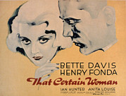 Posth Photos - That Certain Woman, Bette Davis, Henry by Everett