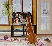 Television Paintings - That could be me. by Virginia Sonntag