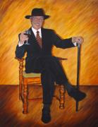 Commision Art - That Gallantly Smiling Gentleman by Bonnie Peacher