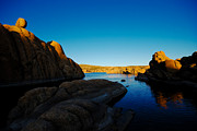 Watson Lake Photos - That Magic Moment by Zee Helmick
