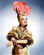 Gold Lame Prints - That Night In Rio, Carmen Miranda, 1941 Print by Everett