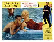 Mink Framed Prints - That Touch Of Mink, Cary Grant, Doris Framed Print by Everett
