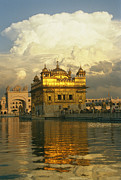 India Metal Prints - The 16-th Century Golden Temple Metal Print by Martin Gray