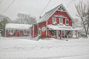 The 1856 Country Store On Main Street In Centerville On Cape Cod Print by Matt Suess