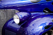 Chevy Coupe Prints - The 1939 Chevy Coupe Print by David Patterson