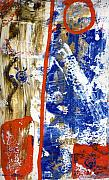 Red White And Blue Paintings - The 4th by Wayne Potrafka