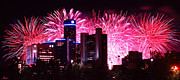 Downtown Celebration Originals - The 54th Annual Target Fireworks in Detroit Michigan by Gordon Dean II