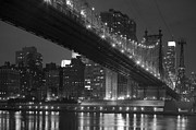 East River Drive Framed Prints - The 59th Street Bridge Framed Print by Andria Patino